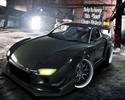 Mazda RX7 by DzDesign