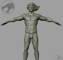 Lion-O Zbrush Update 1 by FoxHound1984