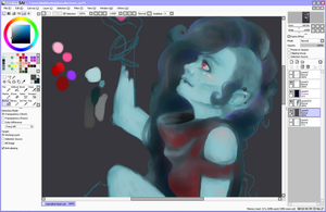 marceline work in progress by marpie