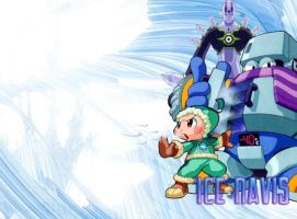 Wallpaper - Ice Navis by mechsaiyan