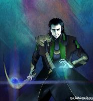 Loki by blargberries