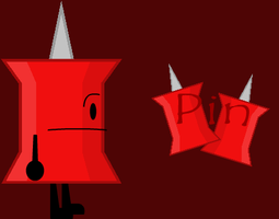 BFDI Pin Wallpaper by MentallyInsanePlz