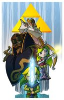 The Wind Waker - A Final Battle (Top 50 Winner) by JoeHoganArt
