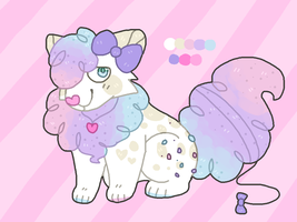 Cotton Candy Cat Adoptable Auction - CLOSED by catpaths