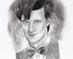 Matt Smith by sherlockart