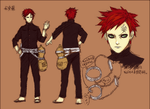Gaara colouring-the last by Eragnarok