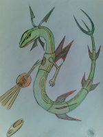 Rayquaza Origin Form ..contest by coolmaster04