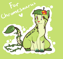 Custom for Chromesaurus! by Manic-Bunny