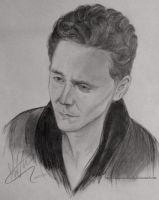 Tom Hiddleston #2 by MariaHasAPaintBrush