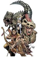 Turok, Son of Stone 1 Cover by eDufRancisco