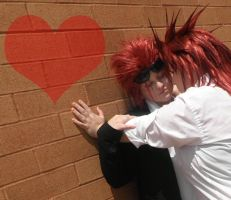 FFVII: Turk Axel x Reno by candybkins