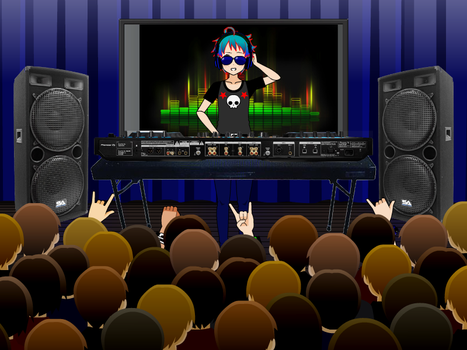 DJ! Turn The Music Up by Pikachuisawesome60