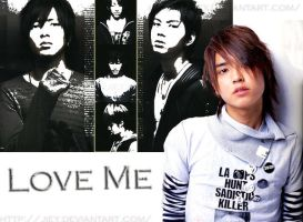 Tegoshi : Love me by JIEY