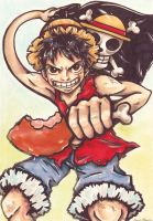 Strawhat Luffy by OoOdanaOoO
