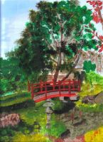 Japanese garden by audamay