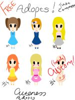 FREE Fem Adopts Set .:CLOSED:. by Cuteness-Adopts
