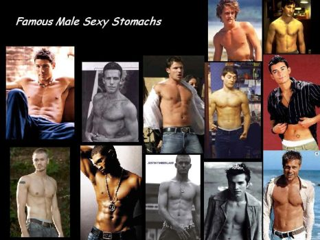 Famous Males Stomach WP by Stomach-Fetish-Club