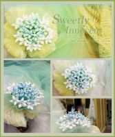 Kanzashi, or a wedding bouquet by CovenEye