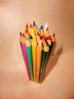 Coloured pencils 2 by Laura-in-china