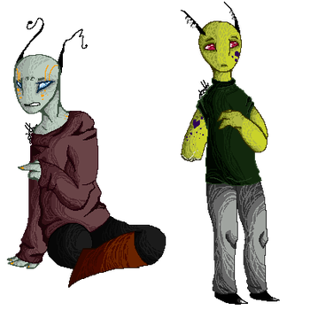 OPEN 1/2 Pixel Adopts 2 by OverLord-Adopts