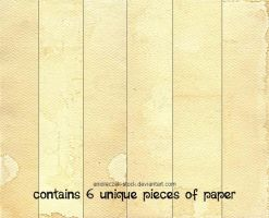Old Yellow Paper by anioleczek-stock