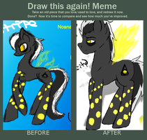 Before And After: Noanan Reference by neokasey82