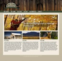 Hunting Ranch Website by Karma-Green
