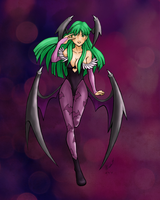Dark Stalker: Morrigan by toinktoink