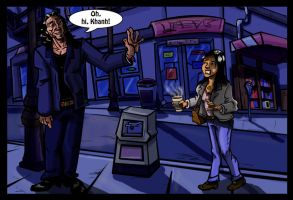 Tommy Wiseau and Khanh -  Night by Lucas-Zebroski