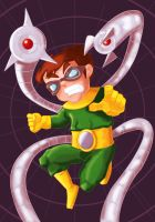 DOCTOR OCTOPUS +WATCH ME PAINT VIDEO by IDROIDMONKEY