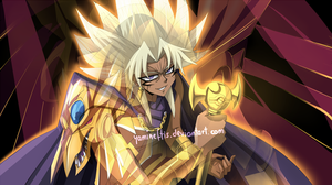 Future Colors: Yami Marik + Ra by Yamineftis