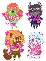 Monster Adopts by PrincessAbiliss