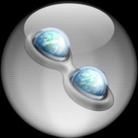 Silver Aqua Trillian Icon v.2 by rontz