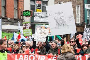 CAHWT Protest - Dame Street, Dublin by suolasPhotography