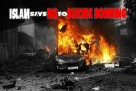 No to Suicide Bombing by Nayzak