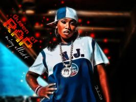 Missy the Queen of Rap by M-AlJabarty