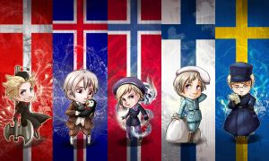 Bookmarks - Nordics by oneoftwo