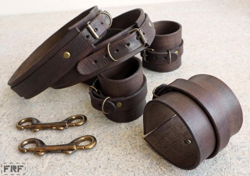 Bondage/BDSM Leather Harness Set by FRF-Leather-Goods