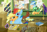 Welcome to the AppleDash Group by SketchyJackie