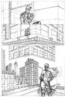 """""""A Day in...Marvel"""" Pg2 by JNcomix"""