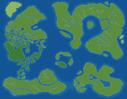 World Map v1.0 Concept by RaZziraZzi
