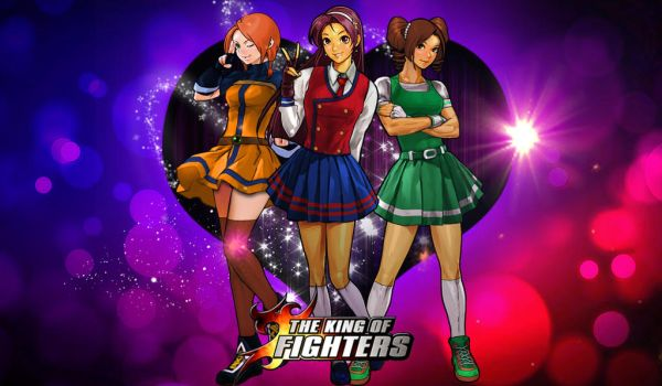 KoF Psycho Girls Team Wallpaper by BLFML72