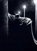 Batman, the Watcher by mariocau
