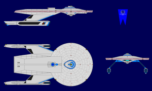 USS Baker Multi-View (For Public Use / Refinements by kaisernathan1701