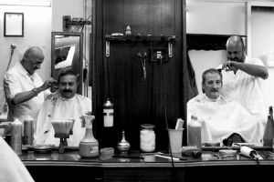 At the barber's by e-l-a-n-i