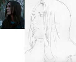 Odette Annable (WIP) by Vhetin1138