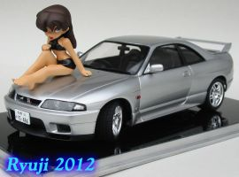 Tamiya R33 GT-R 01 by celsoryuji