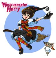 Horcruxcaptor Harry by mistressmariko