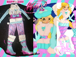 Winx club Cosplay Stella winter Collection from Se by KatyrinaMK