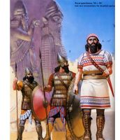 assyrian warriors by byzantinum